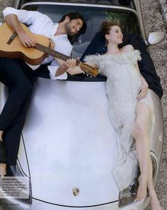 Sponsored: A sweet serenade at an unexpected moment. #timelessLOVE | @Christine Martinez Pick