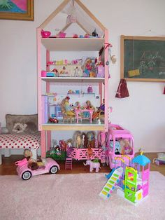 Barbie dream house diy