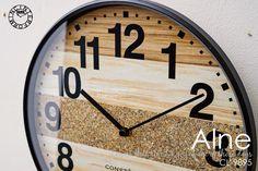 Alne [ アルネ ]■電波時計 | 壁掛け時計 【インターフォルム】:INTERFORM