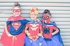 Spiderman inspired Tutu Costume includes tutu, shirt, cape and mask