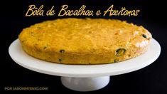 Receita de Bôla de Bacalhau e Azeitonas