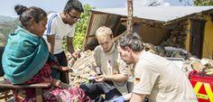 Johanniter leisten medizinische Nothilfe in Nepal