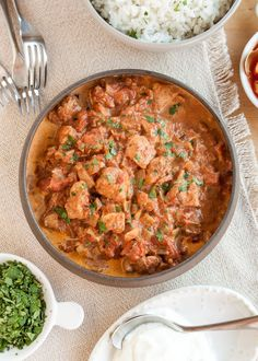 I didn't think chicken tikka masala could really get much better, but then I remembered my fall-time best friend: the slow cooker. This is a curry dish that benefits from a nice, long simmer anyway, so why not let that happen while I'm off doing other things? That's what I call smart cooking. Spooned over some steamed rice, this easy slow cooker tikka masala is about to make your busy fall days very happy indeed.