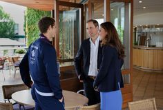 William and Kate with Andy Murray