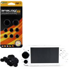 PSP 1000/2000/3000 Analog Joysticks 8 Pack https://www.retrogamingstores.com/gaming-accessories/psp-1000-2000-3000-controller-analog-joysticks-8-pack-black-kmd-komodo  Let your gear live up to your game with this analog joysticks!