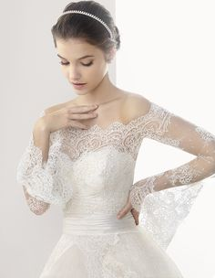 Rosa Clara Wedding Dresses 2014 Part I. To see more: http://www.modwedding.com/2014/05/16/rosa-clara-wedding-dresses-2014-part-1/ #wedding #weddings #fashion #weddingdress