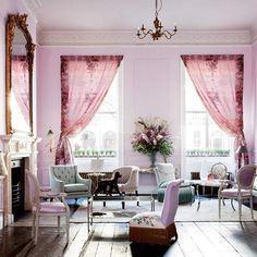 pink apartment