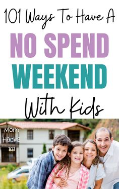 A no spend weekend is a genius budgeting and money saving tactic. Awesome free kids activity ideas so you can go an entire weekend without spending any money and still have family fun! Free Activities For Kids, Family Activities, Baby On A Budget, Money Saving Mom, Quotes About Motherhood, Free Fun, Mom Hacks, Activity Ideas, Parenting Hacks