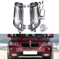 120.00$  Watch now - http://alic9w.worldwells.pw/go.php?t=32316019637 - 2017 new Led high power 6 leds drl daytime running light for BMW X3 F25 front bumper flexible led drl daylight