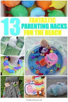 Parenting Hacks for Trips to the Beach