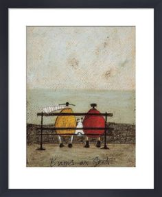 Bums On Seat Art Print by Sam Toft at King & McGaw