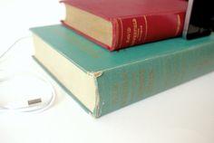 vintage book iPhone docks