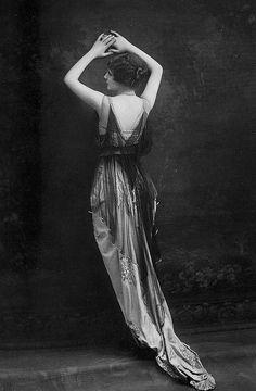 Les Modes (Paris) 1914 Robe du Soir by Drecoll