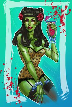 """Created exclusively for Lttle Shop Of Horrors: """"Miss Zombie"""" by kotsu-direngrey.deviantart.com on @deviantART"""