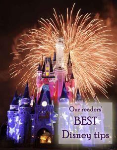 Our readers' BEST Disney tips | tipsforfamilytrips.com