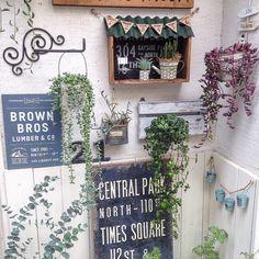 リメイク/セリア/100均/傘立て/ガーデニング/玄関/入り口…などのインテリア実例 - 2016-06-27 19:35:30   RoomClip(ルームクリップ) Boho Garden Ideas, Green Life, Outdoor Art, Balcony Garden, Succulents Garden, Beautiful Space, Garden Styles, Cozy House, Garden Projects