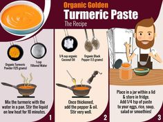 Have you ever wondered how to make your own turmeric paste? 1/2c Turmeric, 1c water, 1/2 tsp black pepper, 1/2c coconut oil, 1/4c honey, 1tsp cinnamon