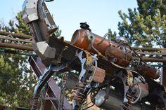 #Theming detail on the Scorpion Express @Themesparx #Chessington World of Adventures