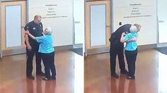 Images of the incredble interaction were shared by the Arvada Police Department.