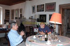 with Giancarlo Mauri Patrick Leigh Fermor, Art Images, Art Pictures
