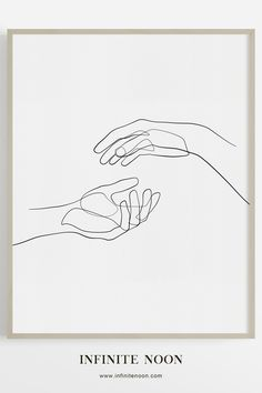 Sense of Touch One line hand figure drawing wall art, minimalist couple wall art decor, continuous line sketch prints, simple bedroom wall art, modern abstract figure illustration. The post Sense of Touch appeared first on Welcome! Hand Illustration, Portrait Illustration, Wall Art Sets, Wall Art Decor, Wall Art Prints, Easy Doodle Art, Easy Doodles, Aesthetic Drawing, Aesthetic Art
