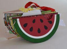 Scrappy Stuff: Summertime Watermelon Mini Album
