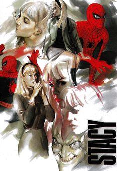 Gwen Stacy by Alex Ross