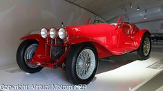 Alfa Romeo 8C 2300 Spider Corsa at Museo Casa Enzo Ferrari, 2014 - red for passion!