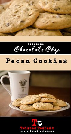 Chocolate Chip Pecan Cookies- Super soft cookies that will disappear ...