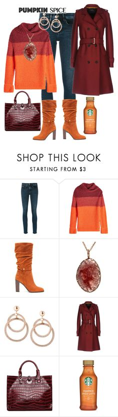 """Pumpkin Spice of Life"" by jfcheney ❤ liked on Polyvore featuring Calvin Klein Jeans, Lala Berlin and Donald J Pliner"