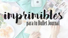 ¡Hola a todas! Hoy quería compartir con vosotras unos imprimibles que cree para mí. No sé vosotras pero a mí me encanta ver Bullet Journa...