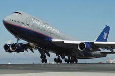 Boeing 747 United Airlines United Airlines, Boeing 747, Aircraft, Tech, The Unit, Vehicles, Technology, Aviation, Plane