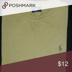 🐴Ralph Lauren Men's Polo T-shirt Tan Polo T-shirt. Never worn ! Polo by Ralph Lauren Shirts Tees - Short Sleeve