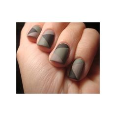 """My """"I'm ready for Paintball"""" Mani Patchwork Camo ❤ liked on Polyvore featuring beauty products, nail care, nails and makeup"""