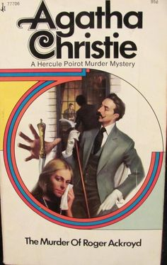 The Murder Of Roger Ackroyd, by Agatha Christie. Pocket Book, 1973