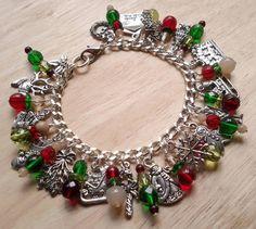 CLOSED! - HP Craftalong ~Fall Semester 2014~ Bertie Bott's Bean - Shrimp: Happy Holidays Charm Bracelet