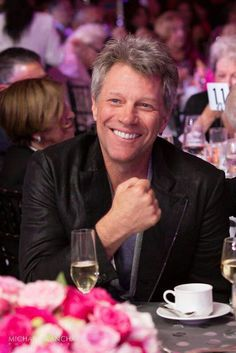 Jon Bon Jovi, September 2014 ♥ Love that Smile!