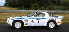The Mazda RX-7 Group B Rally Car