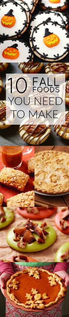 Find your new favorite fall food with recipes and ideas galore! Looking for a delicious fall treat? We have you covered!