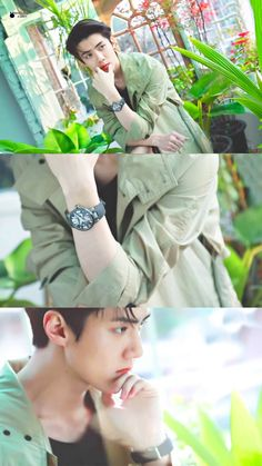 ~ EXO Appreciation Post Series (Oh Sehun) // YAS IM NOT LATE AGAIN HAHA *clears throat* anyway heres a pic of Sehun looking like that one hot biology professor exploring the jungle 😌😌😌 Baekhyun, Park Chanyeol, Chanbaek, Spirit Fanfic, Sehun Cute, Exo Lockscreen, Kpop Exo, Exo Members, Fandom