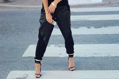 Sporty yet stylish. #stilettos #style #zappos