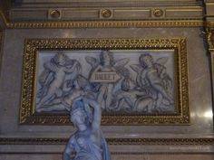 :-) HappyFace313 - BALLET relief - entrance hall of the Vienna State Opera
