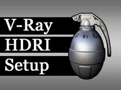V-Ray - HDRI Setup - YouTube