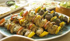 Florida Shrimp and Sweet Pepper Skewers  / Entrees / Recipes / Home - Florida Department of Agriculture & Consumer Services