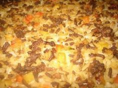 Kermainenuunirisotto Hawaiian Pizza, Risotto, Macaroni And Cheese, Food And Drink, Cooking Recipes, Tasty, Sweets, Baking, Ethnic Recipes