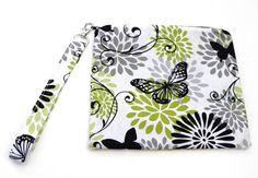 Zippered Bag Diaper Bag Organizer Pouch Butterfly Zipper Bag