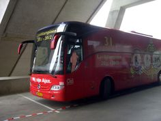 Spelersbus AJAX AMSTERDAM.!!