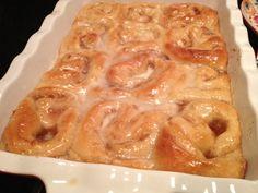 Apple Butter Rolls - perfect Fall breakfast!