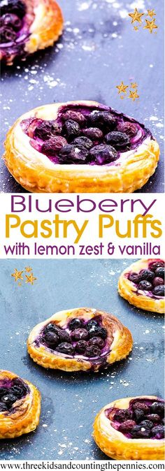 Zesty Blueberry And Cream Cheese Pastry Puffs: An amazing and delicious dessert recipe. So quick, easy and cheap to make -- you have nothing to lose! Cake Ingredients, Homemade Tacos, Homemade Taco Seasoning, Delicious Desserts, Dessert Recipes, Quick Dessert, Mini Desserts, Easy Desserts, Kitchen