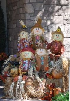 outside fall decorating ideas   The wagon is so fun and whimsical filled with Pumpkins, leaves and ...